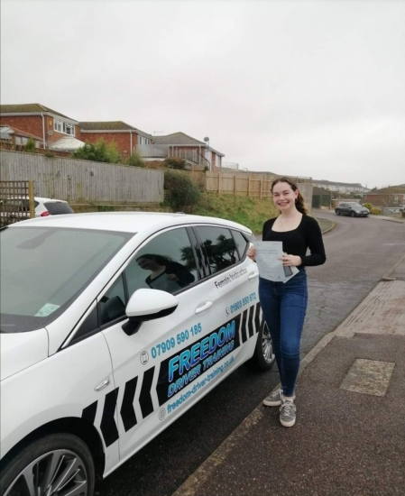 I had a challenging experience of driving from the start and went through two instructors and 2 tests before learning with Julie.I instantly felt relaxed and calm and began to enjoy driving again.I cannot praise Julie enough for the support she provided and for giving up her Sunday lay-ins.Thank you for giving me the confidence to not give up and to pass a driving test.
